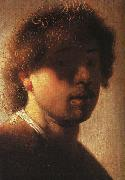 Rembrandt, Self Portrait  ffcx