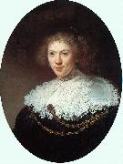 Rembrandt, Woman Wearing a Gold Chain