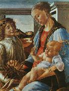 Sandro Botticelli Madonna and Child with an Angel Sweden oil painting reproduction