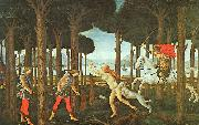 Sandro Botticelli Panel II of The Story of Nastagio degli Onesti Sweden oil painting reproduction