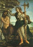 Sandro Botticelli Pallas and the Centaur Sweden oil painting reproduction