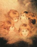 Sir Joshua Reynolds Heads of Angels Sweden oil painting reproduction