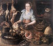 RYCK, Pieter Cornelisz van The Kitchen Maid AF Sweden oil painting reproduction