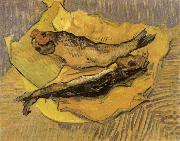 Claude Monet, Bloaters on a Piece of Yellow Paper