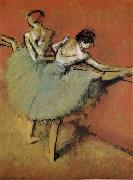 Edgar Degas, Actress