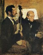 Edgar Degas, Artist-s Father and Pagand
