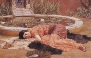 John William Godward, Does He Love me