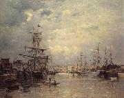 Stanislas lepine The Port of Caen