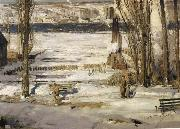 George Wesley Bellows A Morning Snow