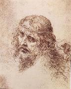 LEONARDO da Vinci, Head and shoulders Christs