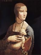 LEONARDO da Vinci, Lady with the ermine