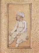 unknow artist, A Portrait of Mohan Lal Diwan of William Fraser