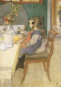 Carl Larsson, A Late-Riser-s Miserable Breakfast