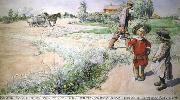 Carl Larsson, Boy and girl