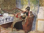 Carl Larsson, A Mother-s Thoughts