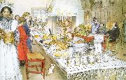 Carl Larsson, Christmas Eve Banquet