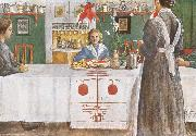 Carl Larsson, A Friend from the City
