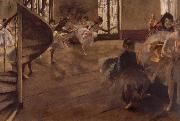 Edgar Degas, Balletrepetitie