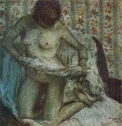 Edgar Degas, After the Bath
