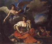 GUERCINO, The Angel Appearing to Hagar and Ishmael