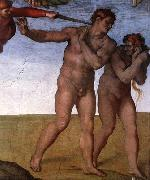 Michelangelo Buonarroti, Expulsion from Garden of Eden