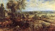 Peter Paul Rubens, An Autumn Landscape with a View of Het Steen in the Earyl Morning
