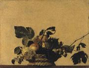 Caravaggio, Fruits basket