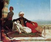 unknow artist, Arab or Arabic people and life. Orientalism oil paintings 106