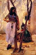 unknow artist, Arab or Arabic people and life. Orientalism oil paintings  490
