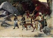 unknow artist, Arab or Arabic people and life. Orientalism oil paintings 122