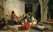 unknow artist, Arab or Arabic people and life. Orientalism oil paintings 71