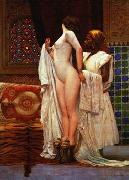 unknow artist, Arab or Arabic people and life. Orientalism oil paintings  482