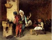 unknow artist, Arab or Arabic people and life. Orientalism oil paintings 60