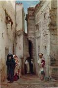 unknow artist, Arab or Arabic people and life. Orientalism oil paintings 572