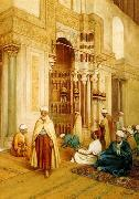 unknow artist, Arab or Arabic people and life. Orientalism oil paintings  529