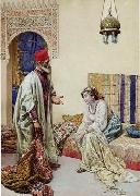 unknow artist, Arab or Arabic people and life. Orientalism oil paintings 573