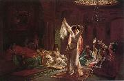 unknow artist, Arab or Arabic people and life. Orientalism oil paintings 590