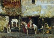 unknow artist, Arab or Arabic people and life. Orientalism oil paintings 607