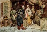 unknow artist, Arab or Arabic people and life. Orientalism oil paintings 117