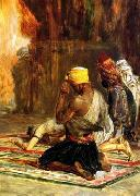 unknow artist, Arab or Arabic people and life. Orientalism oil paintings  524