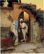 unknow artist, Arab or Arabic people and life. Orientalism oil paintings 10