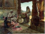 unknow artist, Arab or Arabic people and life. Orientalism oil paintings 603