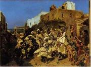 unknow artist, Arab or Arabic people and life. Orientalism oil paintings 103