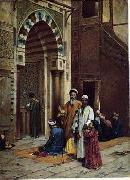 unknow artist, Arab or Arabic people and life. Orientalism oil paintings 594