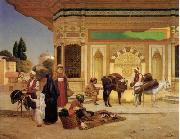 unknow artist, Arab or Arabic people and life. Orientalism oil paintings 586