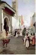 unknow artist, Arab or Arabic people and life. Orientalism oil paintings 123