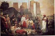 unknow artist, Arab or Arabic people and life. Orientalism oil paintings 70