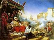 unknow artist, Arab or Arabic people and life. Orientalism oil paintings 76