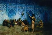 unknow artist, Arab or Arabic people and life. Orientalism oil paintings 72