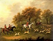 unknow artist, Classical hunting fox, Equestrian and Beautiful Horses, 072.